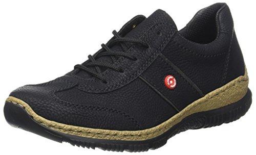 Rieker Damen N3220 Sneaker Schwarz (schwarz/fumo)