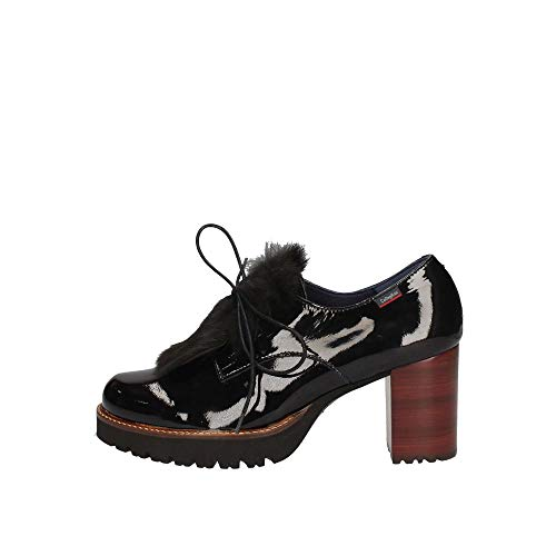 Nero Derby Callaghan Scarpe Stringate Donna Soulfree qwvwa