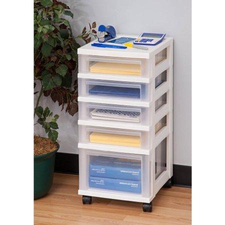 Review IRIS 6-Drawer Storage Cart with Organizer, White (5-Drawer without organizer) By IRIS USA, Inc. by Inc. IRIS USA