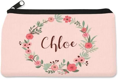 Flower Wreath These Cool Pencil Cases for Kids Make The Perfect Back to School Pencil Case to Keep Pens Personalized Childrens Pencil Case by Dinkleboo Pencil and Erasers Organized.