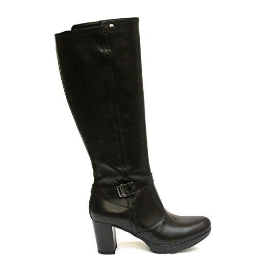 Nero Giardini A513774 Botas Para Mujer en la Rodilla Elegantes Casul Plateau negro