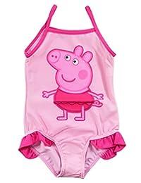 LEMONBABY Peppa Pig One-piece Summer Swimwear Beach Swimsuit