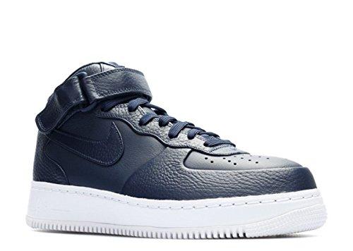 Nero Obsidian Nike Basket Scarpe Uomo Bianco Mid white Force da Air NikeLab Obsidian 1 Pw4zFq