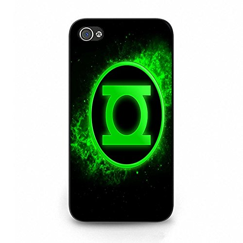 Iphone 4 4s Cartton Movie Cover Shell Unique Magic Logo DC Marvel Superhero Comic Green Lantern Phone Case Cover for Iphone 4 4s