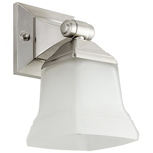 Brushed Light Nickel Single - Sunlite 46061-SU Bathroom Vanity Light Fixture 5