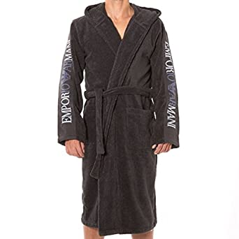 48401627d7 Emporio Armani Sponge Bathrobe  Amazon.co.uk  Clothing