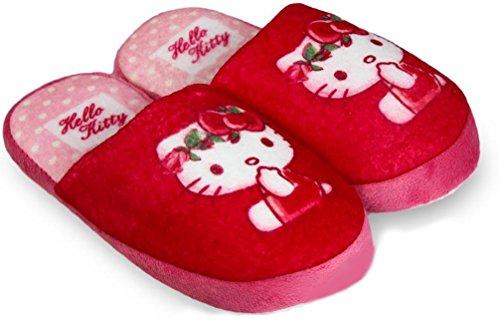 Hello Kitty Pantoffeln, Hausschuhe Pink