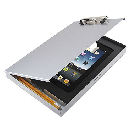 Saunders Tuff Writer for iPad 2/3, Silver Alum (45450)