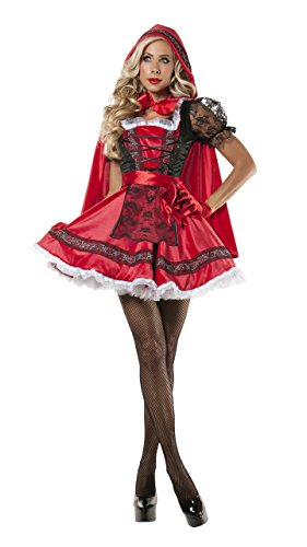 Sweet Little Red Costume, Sexy Red Ridding Hood Costume ()