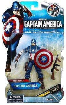 Captain America Movie Exclusive 6 Inch Action Figure Captain America