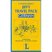 Langenscheidt Jiffy Phrasebook: German - Travel Pack