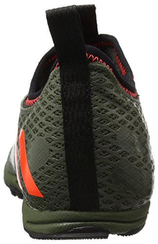 Scarpa Da Running Adidas Performance Mens Xcs Senza Fondo Da Corsa Verde / Rosso Solare / Marrone Chiaro