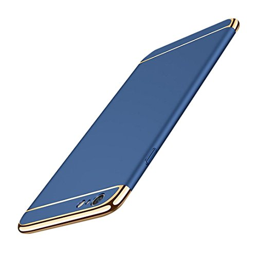 Coohole 2017 Fashion Thin Electroplate Hard Case Cover for iPhone 8 / 8 Plus (8, Blue 1)