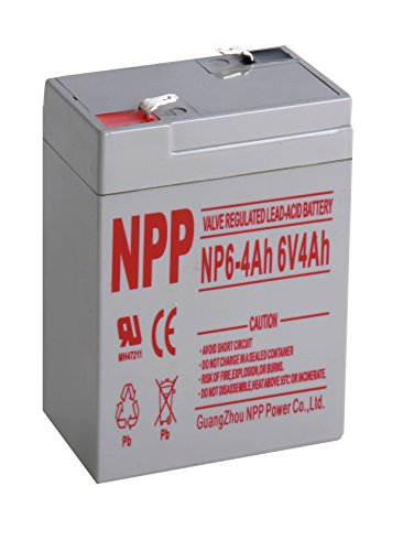 6v 4ah sealed lead acid battery - 9
