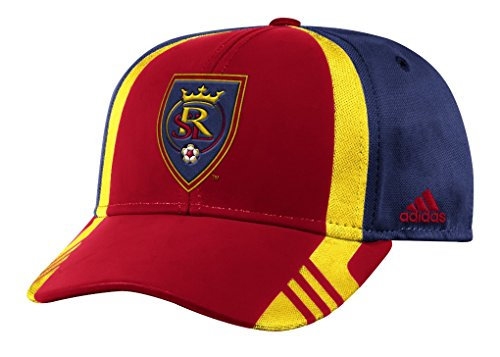 Real Salt Lake Adidas MLS 2017 Authentic Team Structured Adjustable Hat by adidas