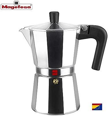 M MAGEFESA - Cafetera Modelo Kenia de Aluminio Grueso (12 Tazas)