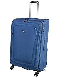 Atlantic Unite 2 29-Inch Expandable Link2go System 8-Wheel Spinner, Blue, Checked – Large
