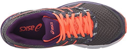 (ASICS Women's Gel-Excite 4 Running Shoe, Shark/Flash Coral/Parachute Purple, 8.5 W US)