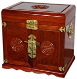 Oriental Furniture 5 Drawer Jewelry Cabinet