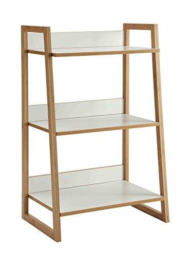 Convenience Concepts Oslo Sundance 3-Tier Shelf, White/