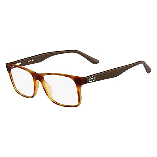 Lacoste L2741-218-53 Mens L2741 Light Havana Eyeglasses