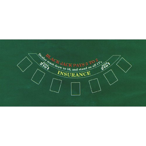 Amscan Blackjack Table Cover