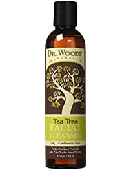 Dr. Woods Shea Vision Tea Tree Liquid Facial Cleanser with Organic Shea Butter, 8 Ounce