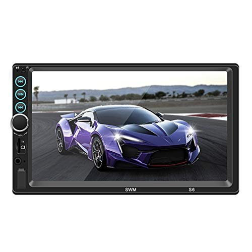 7 Inch Double Din Bluetooth Car Stereo, Car MP5 MP3: Amazon.co.uk: Electronics