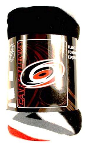 (The Northwest Company NHL Officially Licensed Carolina Hurricanes Side Bar Fleece Throw (50