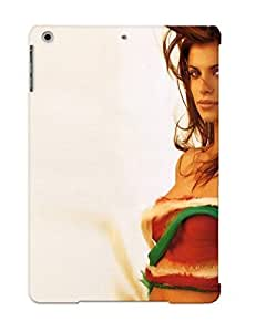 Defender Case For Ipad Air, Brunees Women Lips Brown Eyes Midriff Elisabea Canalis Pattern, Nice Case For Lover's Gift