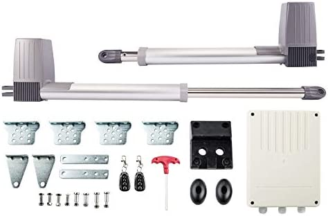 Sfeomi - Kit de automatización de puerta corredera, motor eléctrico para puerta corredera, abridor automático con cadena corredera Arm Swing Gate Opener 80 W 1500 N: Amazon.es: Bricolaje y herramientas