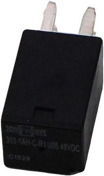 Polaris 2010-2018 Gem Em1400 Em1400 Relay Spst 303 48Vdc Coil Seal 4012851 New Oem