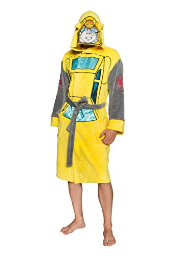 Adult Bumblebee Transformer Costumes (Transformers Bumblebee Adult Costume Robe)