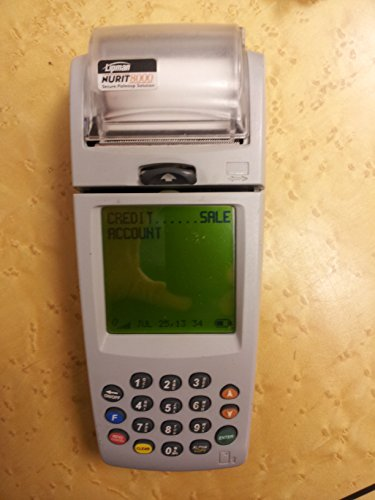 VERIFONE 8000 WIRELESS CREDIT TERMINAL product image