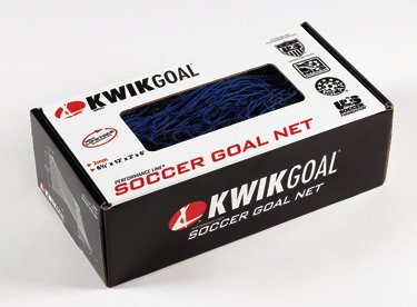 Kwik Goal Junior Recreational Soccer net(Blue - 6'5