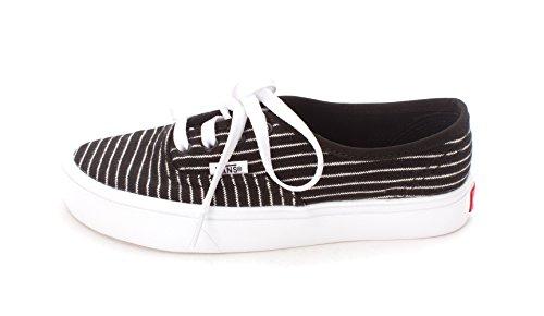 Vans Unisex Autentico (kendra Dandy) Scarpa Da Skate (strisce) Blk / True White