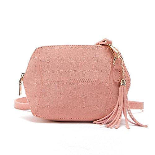 Bag Bags Handbag Satchel Bags NEWONESUN by Hobo Shoulder Pink Body Women��s Tote Cross qwSaBII