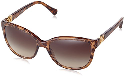 Dolce&Gabbana DG4258 Sunglasses 255013-56 - Brown Marble Frame, Brown - Sunglasses Dolcegabbana