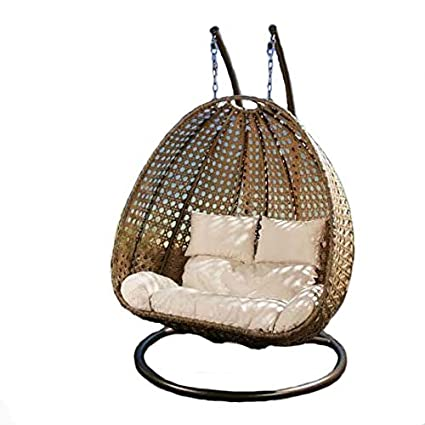 Hindoro Outdoor Furniture Double Seater Hanging Swing
