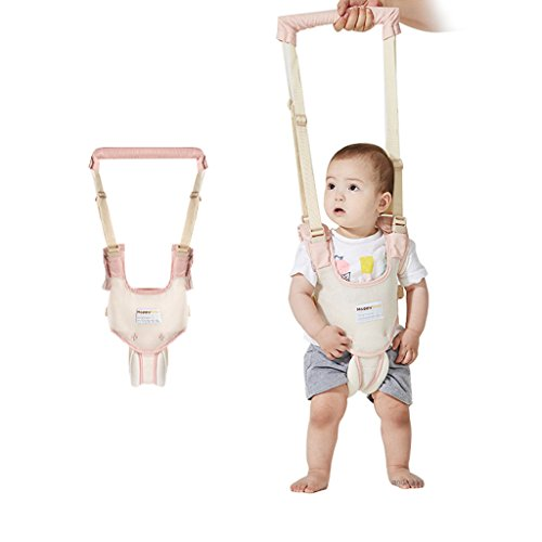 Baby Walking Harness Toddler Safety Reins Anti Lost Strap Adjustable,Pink Adjustable Rein