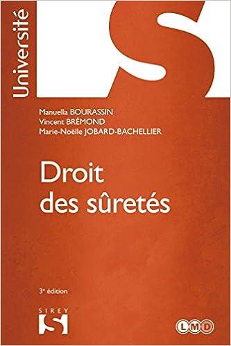 Lire Droit des sûretés - 3e éd.: Université epub pdf