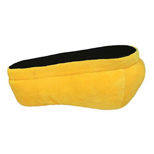 Material de mujer DressBeMine Sintético Zapatillas para por casa Yellow6 estar de z6qYqS5w