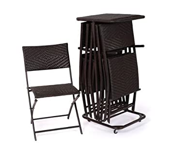 RST Outdoor Perfect Folding Chair Six Pack Patio Furniture By Rst Outdoor  Model Op Pefcs6t