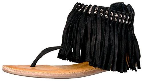 Gladiator femmes noir Solene pour Sandales nWxZ8q0cpY