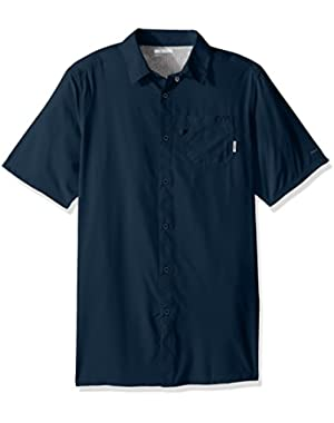 Men's Slack Tide Solid Camp Shirt