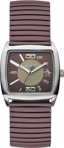 Original Penguin OP5010BR Mens Brown Beige Watch