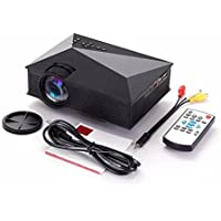 Salange UNIC UC46 Portable WiFi Wireless Projecting LED Projector with 800x480 Resolution Video Beamer support VGA AV TF USB HDMI
