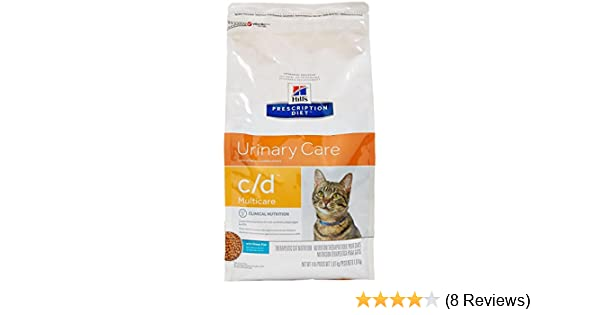Amazon.com : Hills Prescription Diet C/D Multicare Feline Urinary Care - Ocean Fish - 4Lb : Pet Supplies