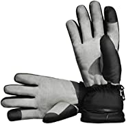 Aroma Season Electric Heated Winter Gloves for Kids and Baby Mittens, Toddler Warm Waterproof Ski Snow Gloves