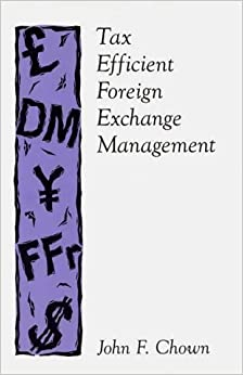 Tax Efficient Foreign Exchange Management (Political Science: 13)